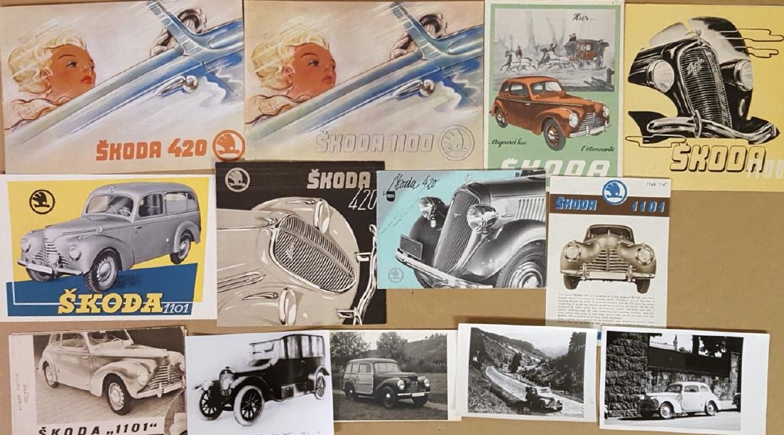 Early 1930's-1948 Skoda items - 2