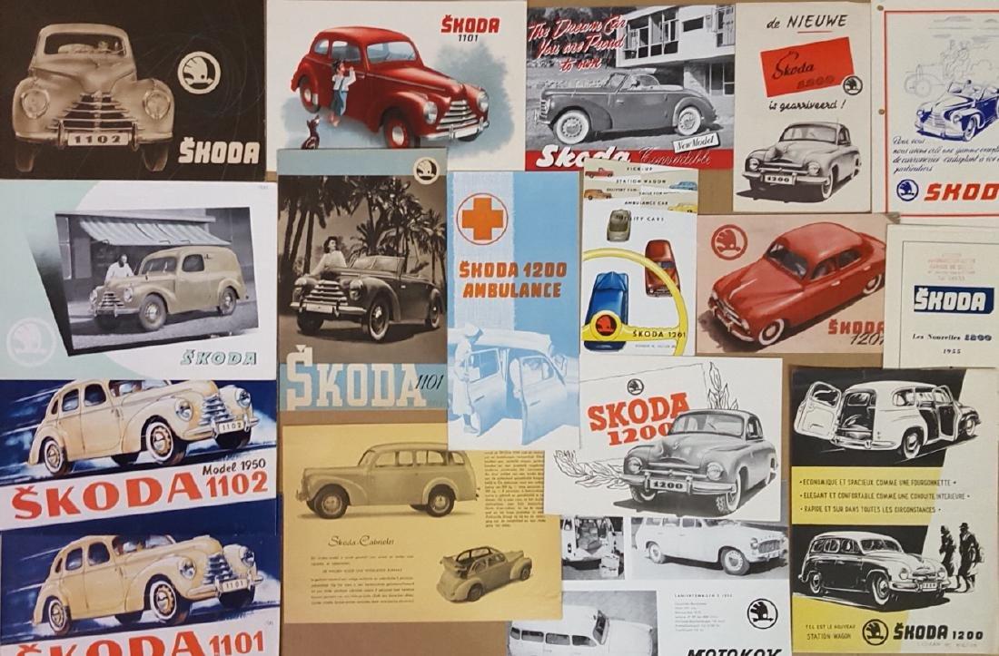1949-1964 Skoda brochures