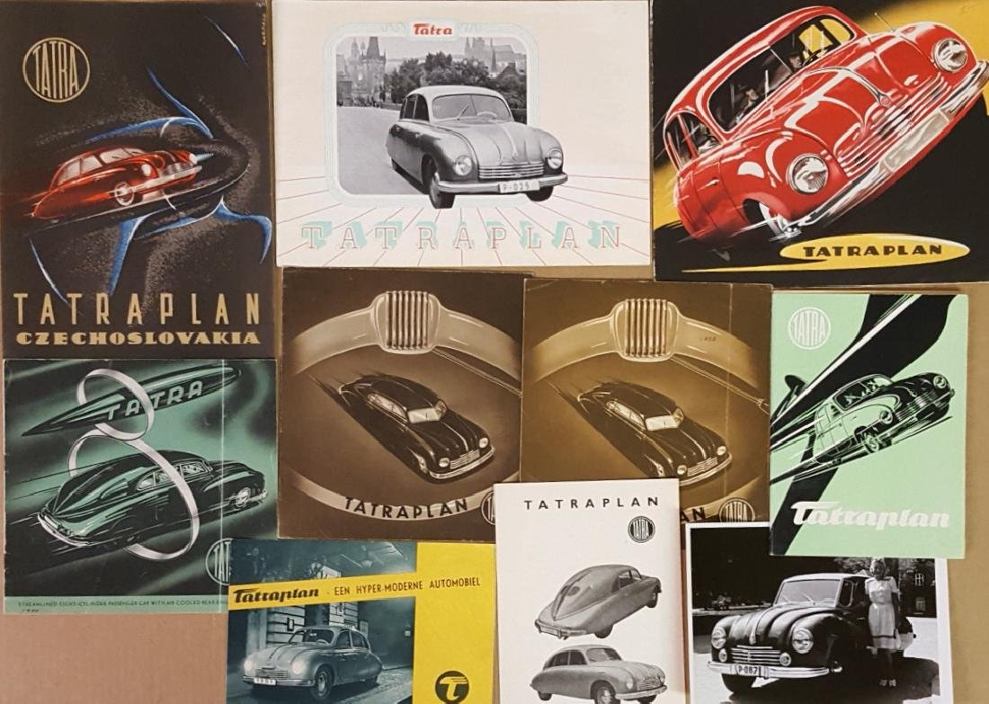 1932-1954 Tatra items - 2