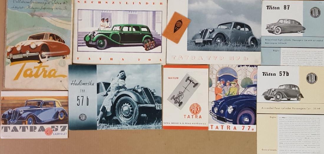 1932-1954 Tatra items - 3