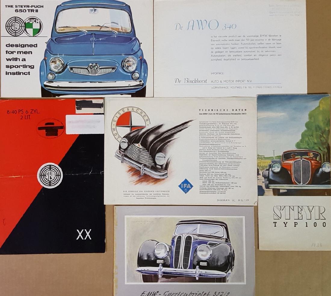 Misc Eastern Euro brochures