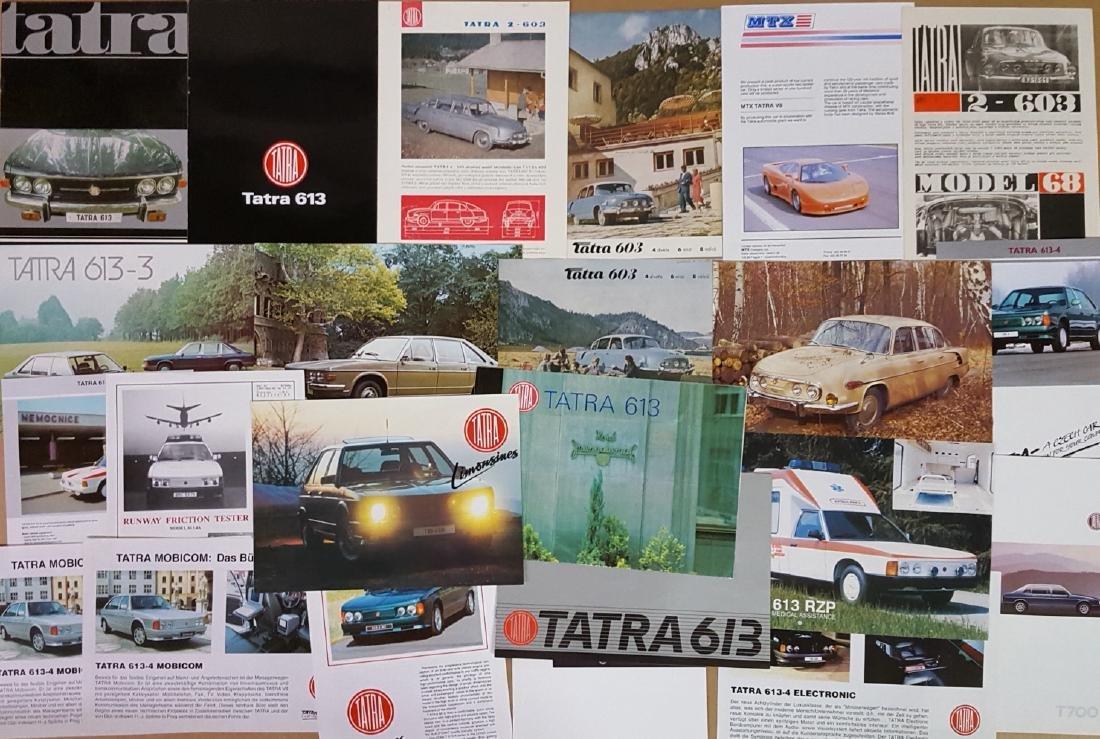 1956-1998 Tatra brochures