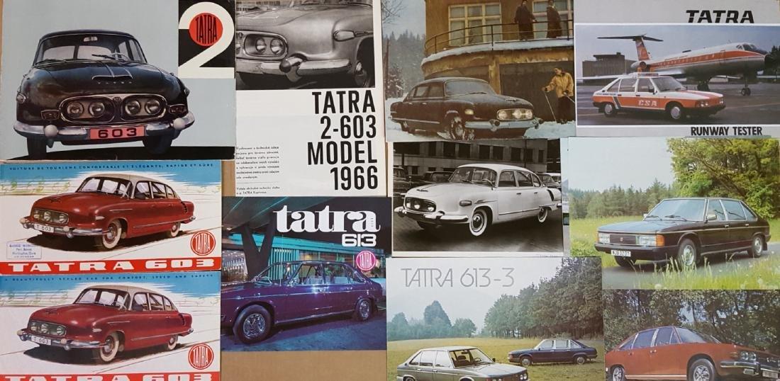 1956-1998 Tatra brochures - 2