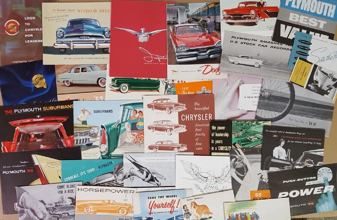 1949-1959 Chrysler products brochures - 3