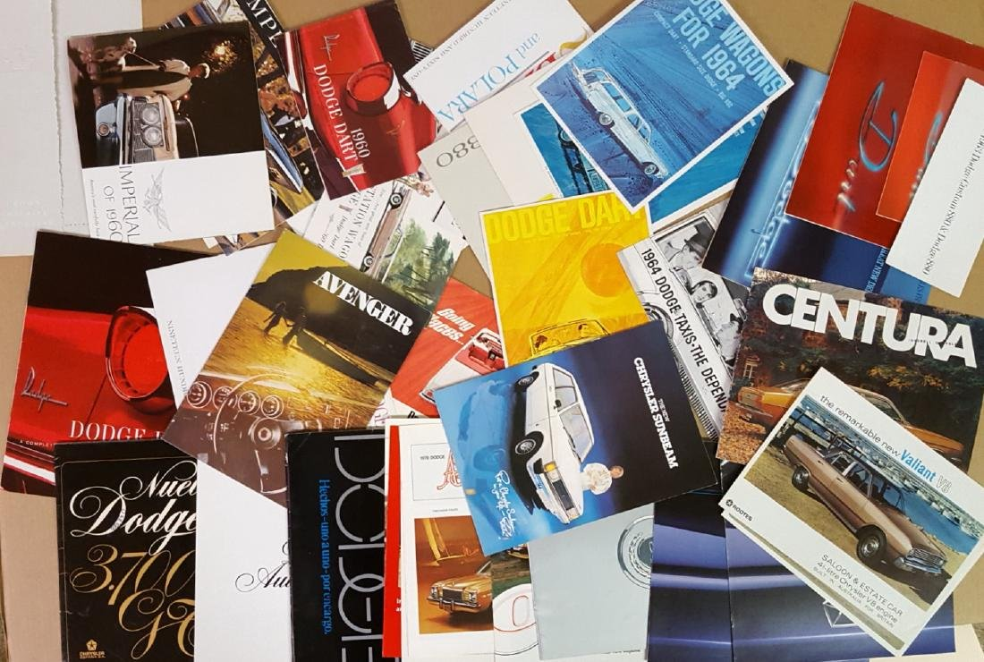 1960-1965 Chrysler products  brochures - 2