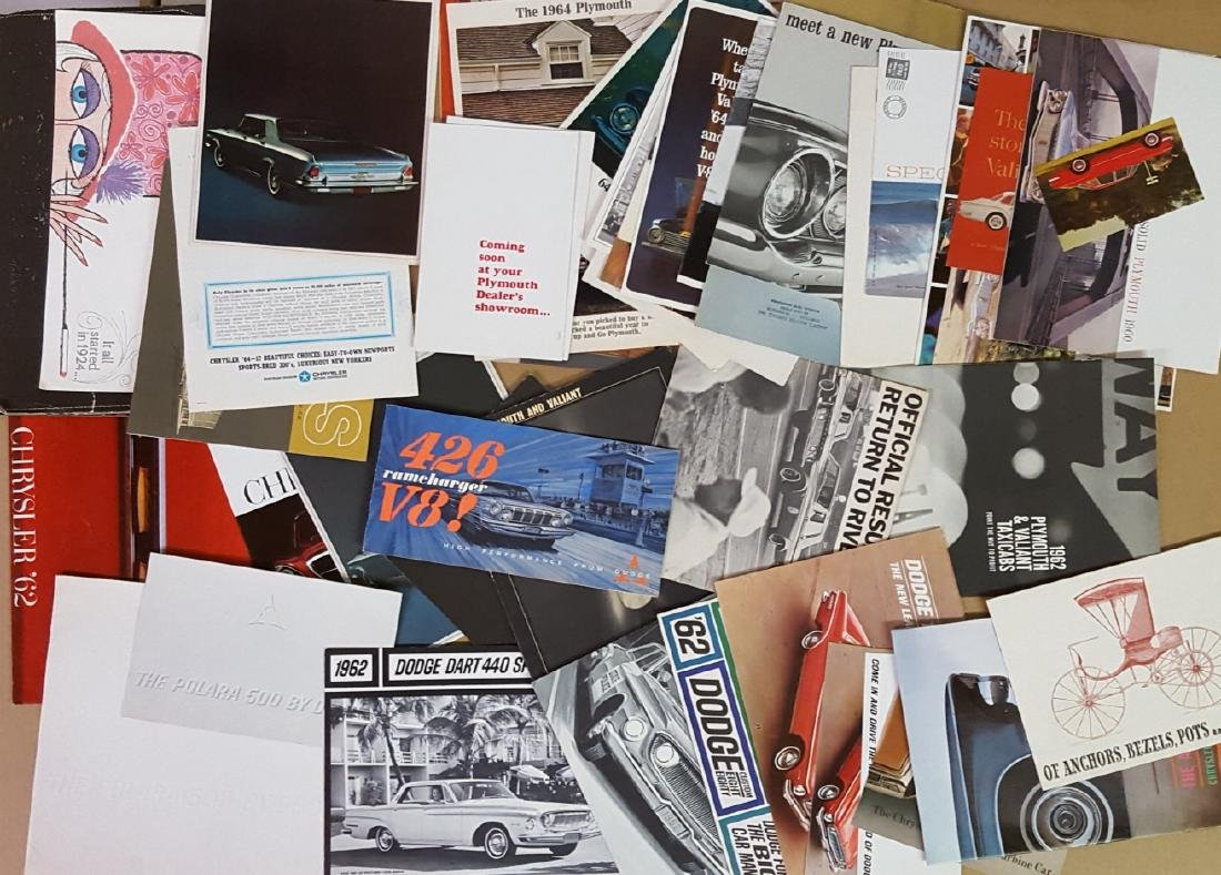 1960-1965 Chrysler products  brochures - 3