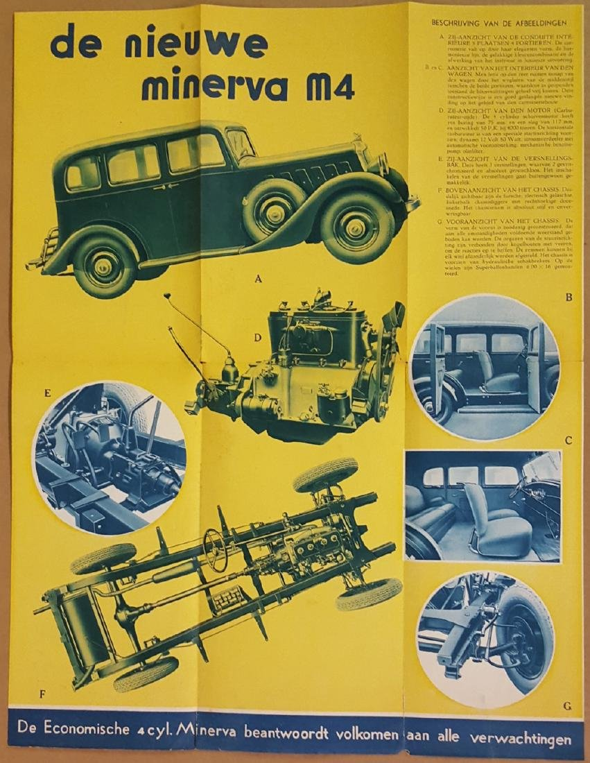 1930's Euro quality car catalogs - 3