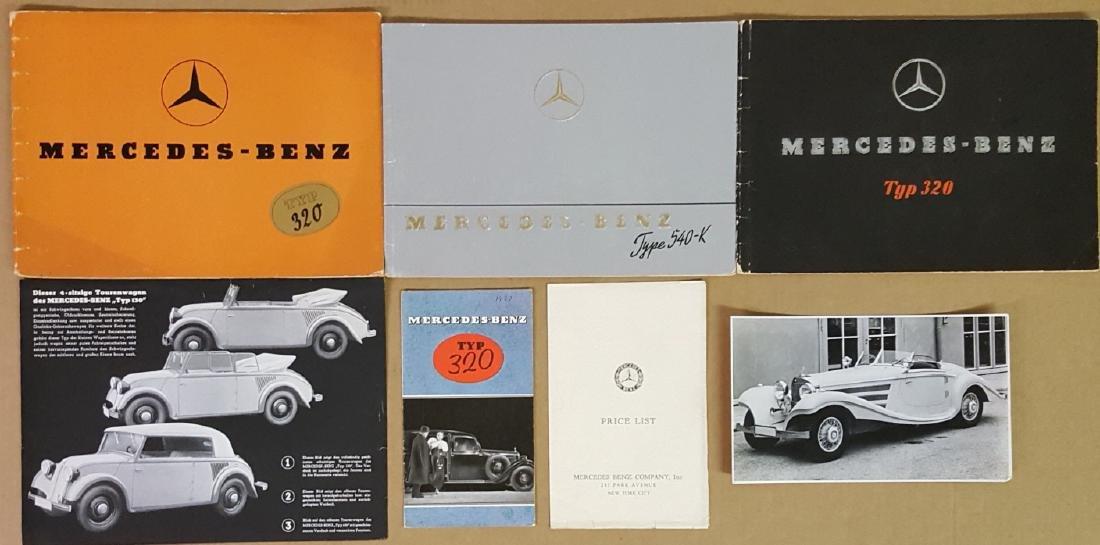 1920's-1930's Mercedes Benz items