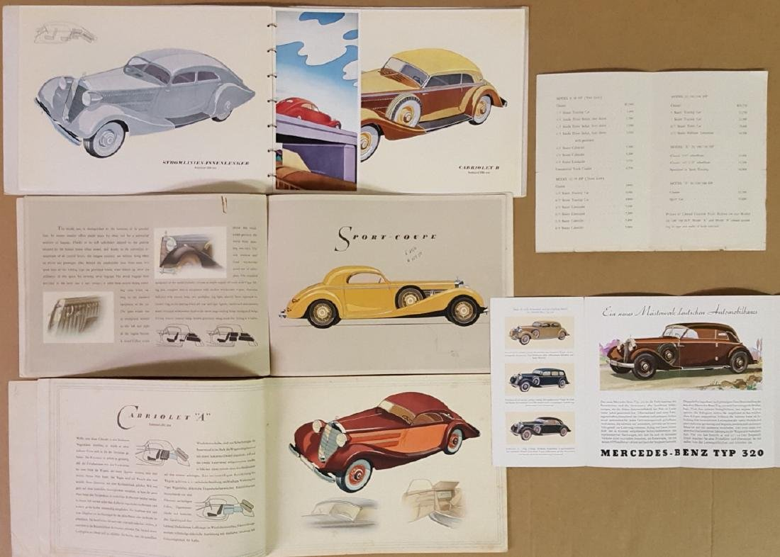 1920's-1930's Mercedes Benz items - 2