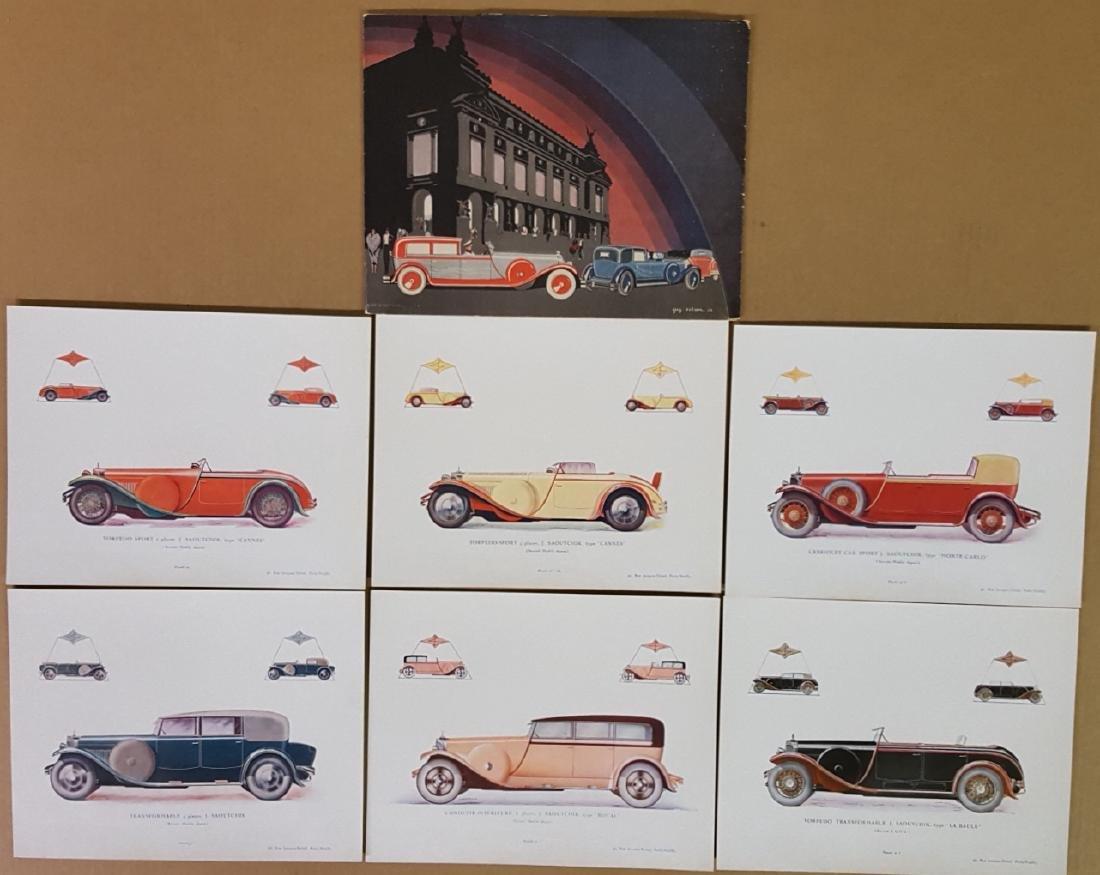 Saoutchik  Merc Benz SSK portfolio - 2