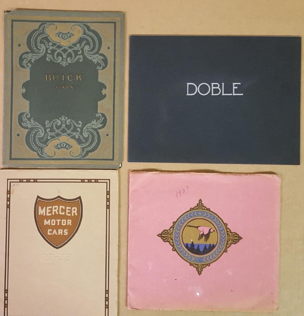 Four catalogs