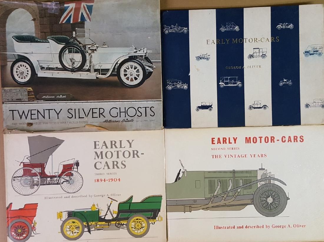 Ten large auto subject books
