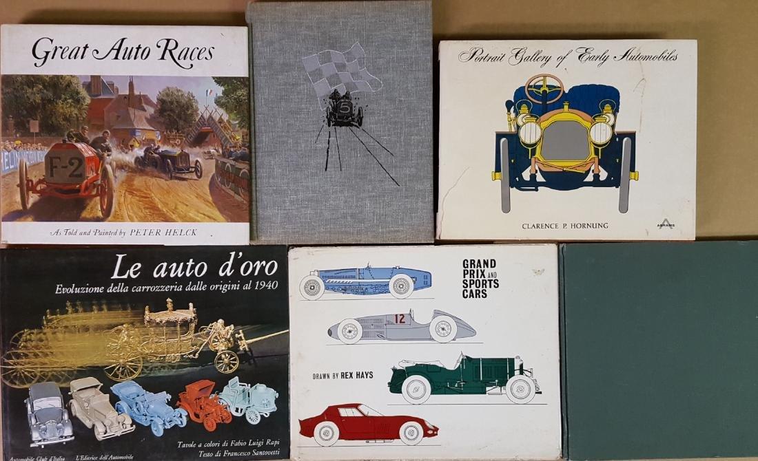 Ten large auto subject books - 2