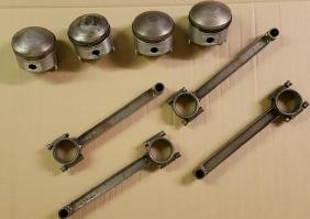Bentley rods and pistons