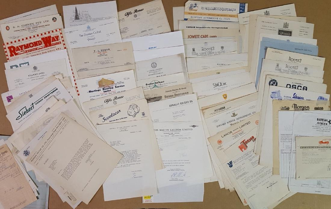Over 300 auto manufacturers letters