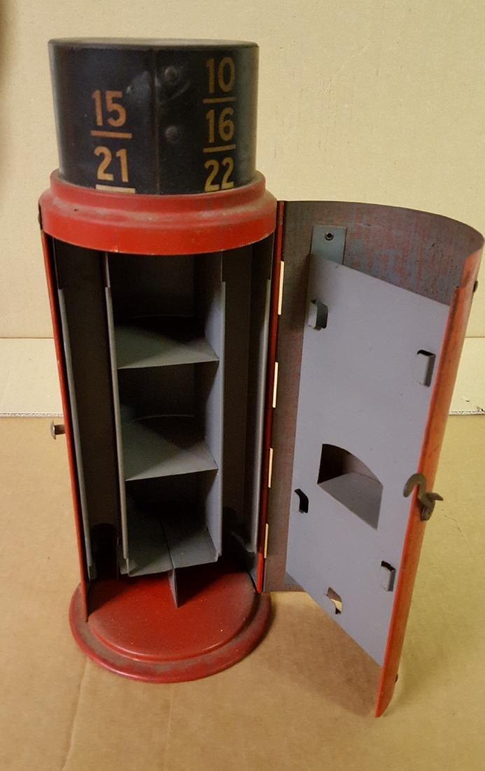 Schraeder tin litho counter display - 2