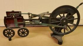Steam engine working model