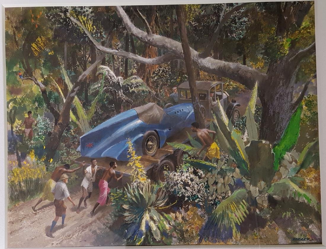 Original Peter Helck artwork