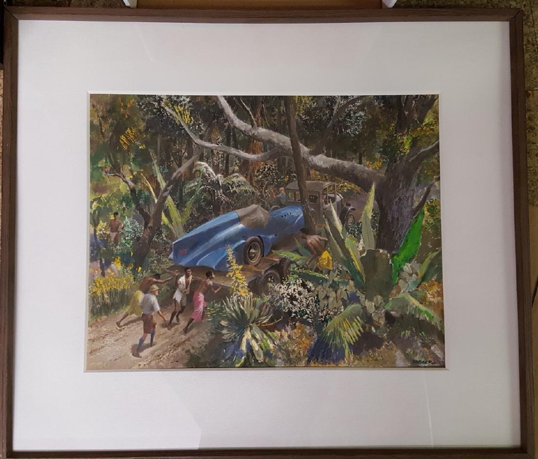 Original Peter Helck artwork - 4