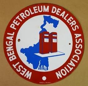 Bengal Petroleum porcelain sign