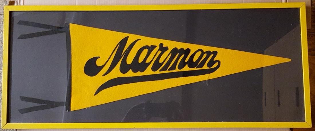 Marmon felt pennant