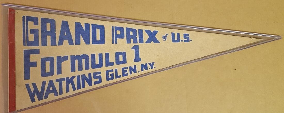 Watkins Glen Formula One pennant
