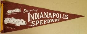 Indy 500 pennant - late 1940's