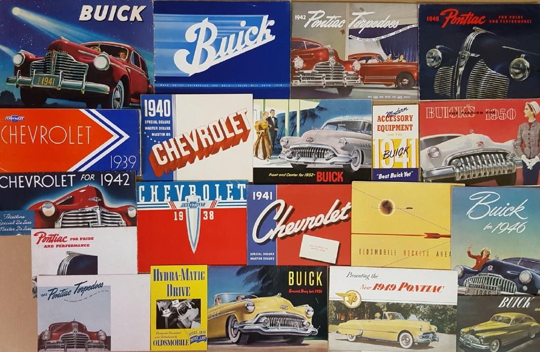 1940's-1952 Chevrolet, Buick, Pontiac, Olds brochu - 2