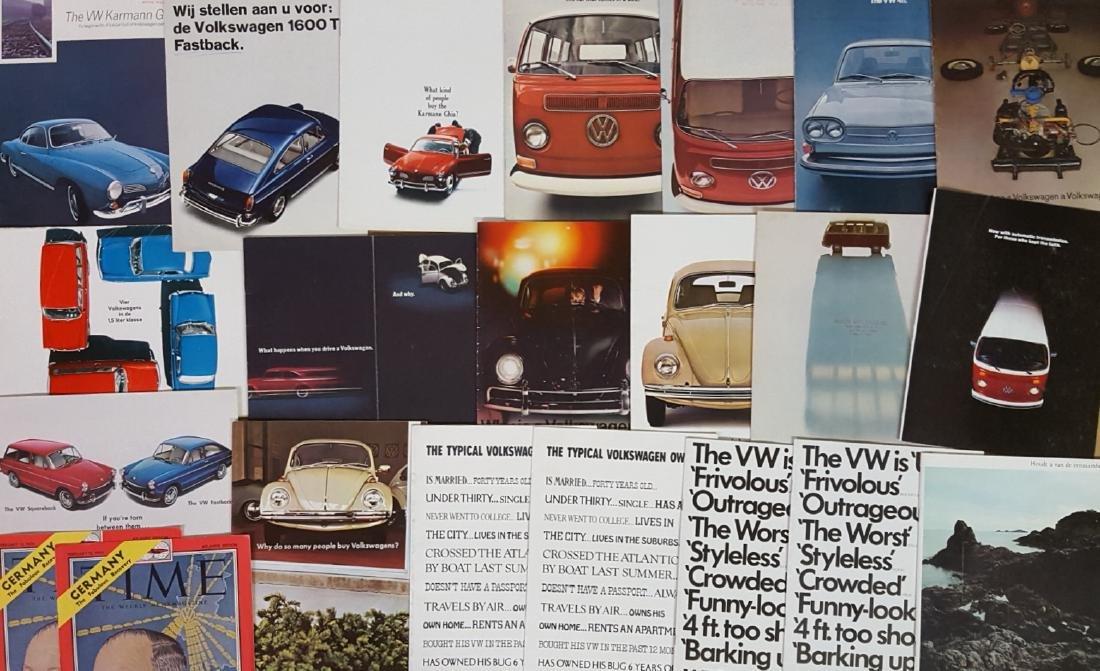 1950's-1970's Volkswagen brochures