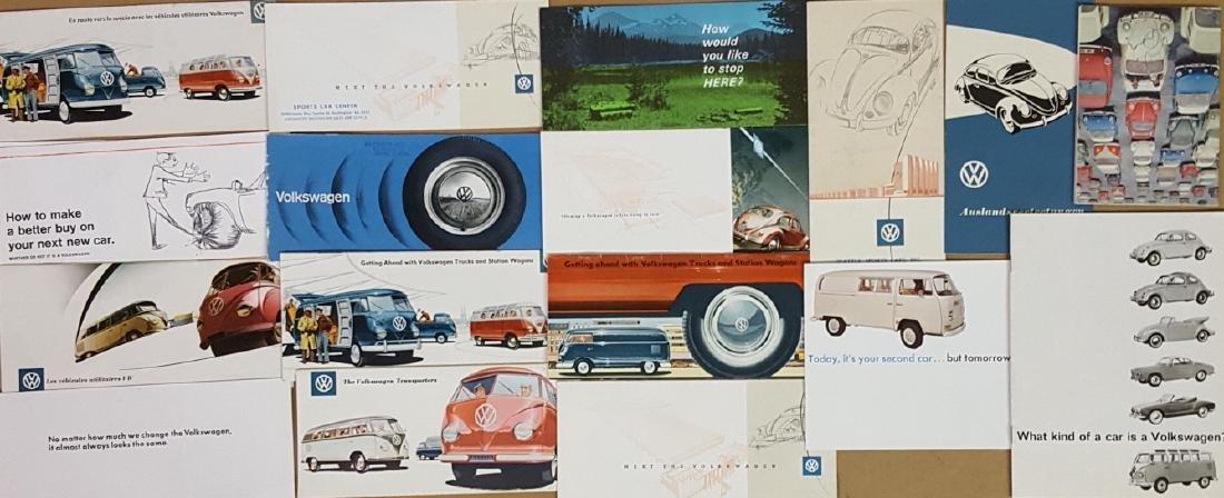1950's-1970's Volkswagen brochures - 2