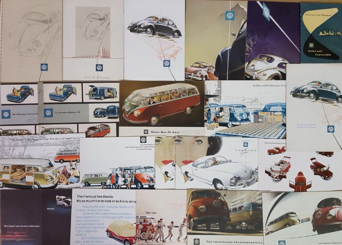 1950's-1970's Volkswagen brochures - 3
