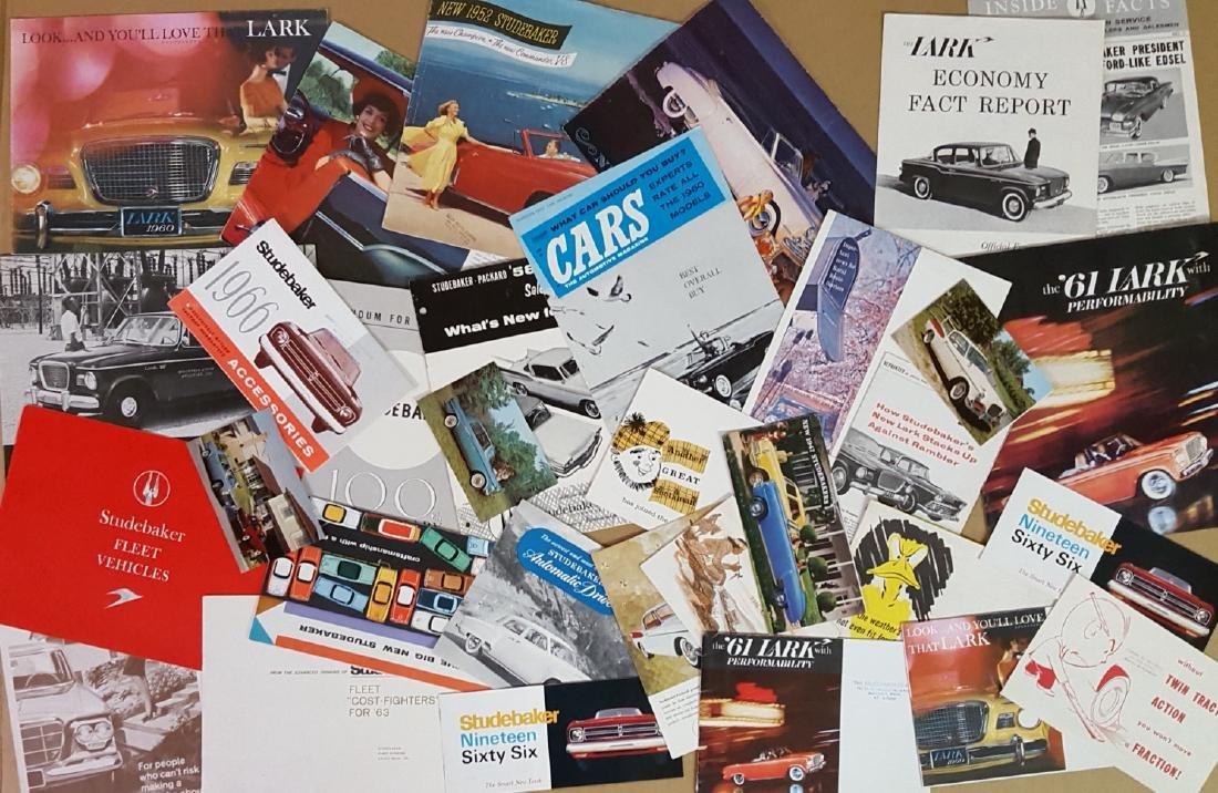 1940's-1960's Studebaker brochures