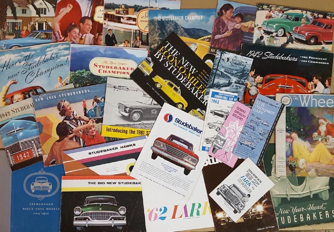 1940's-1960's Studebaker brochures - 2