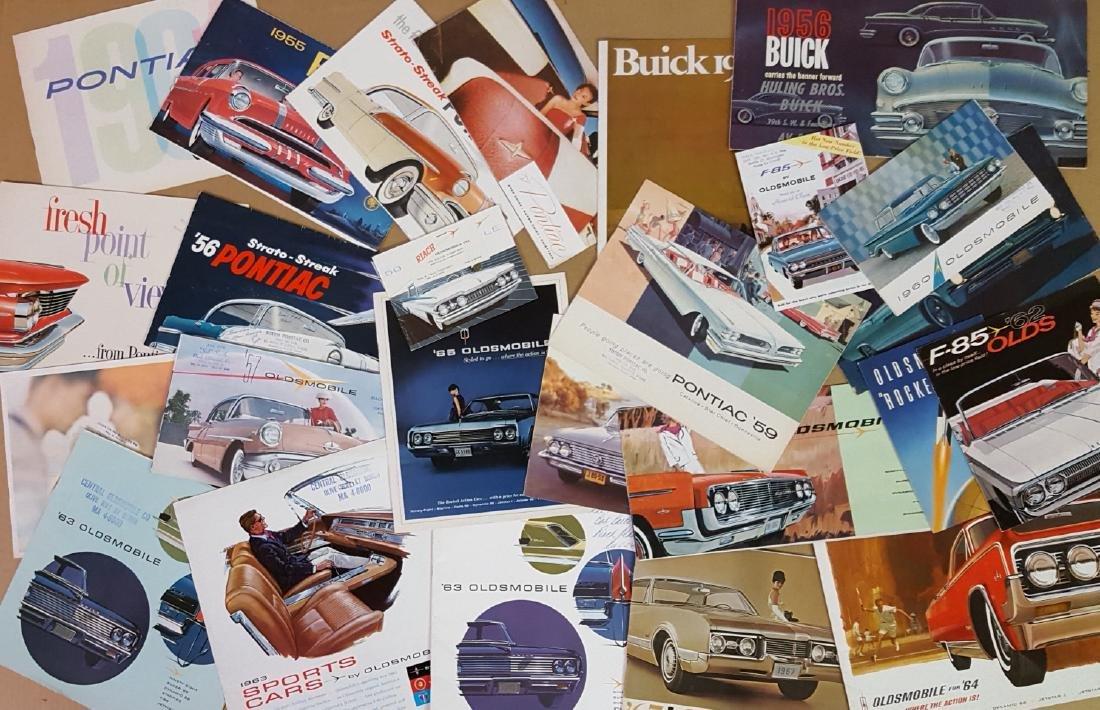 1953 - 1960's Buick, Olds, Pontiac brochures - 2