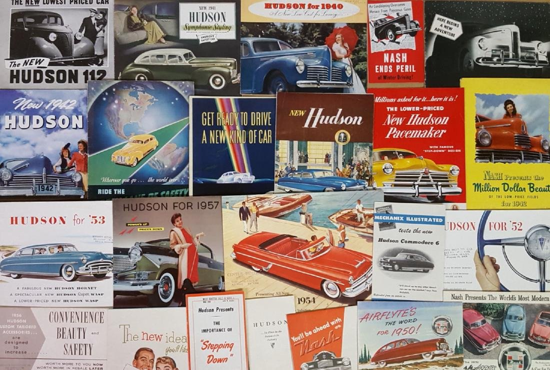 Late 1930's-mid 1950's Hudson and Nash brochures - 3