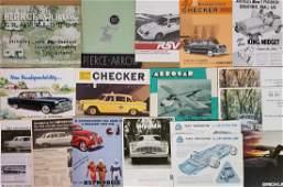 Misc US low production brochures