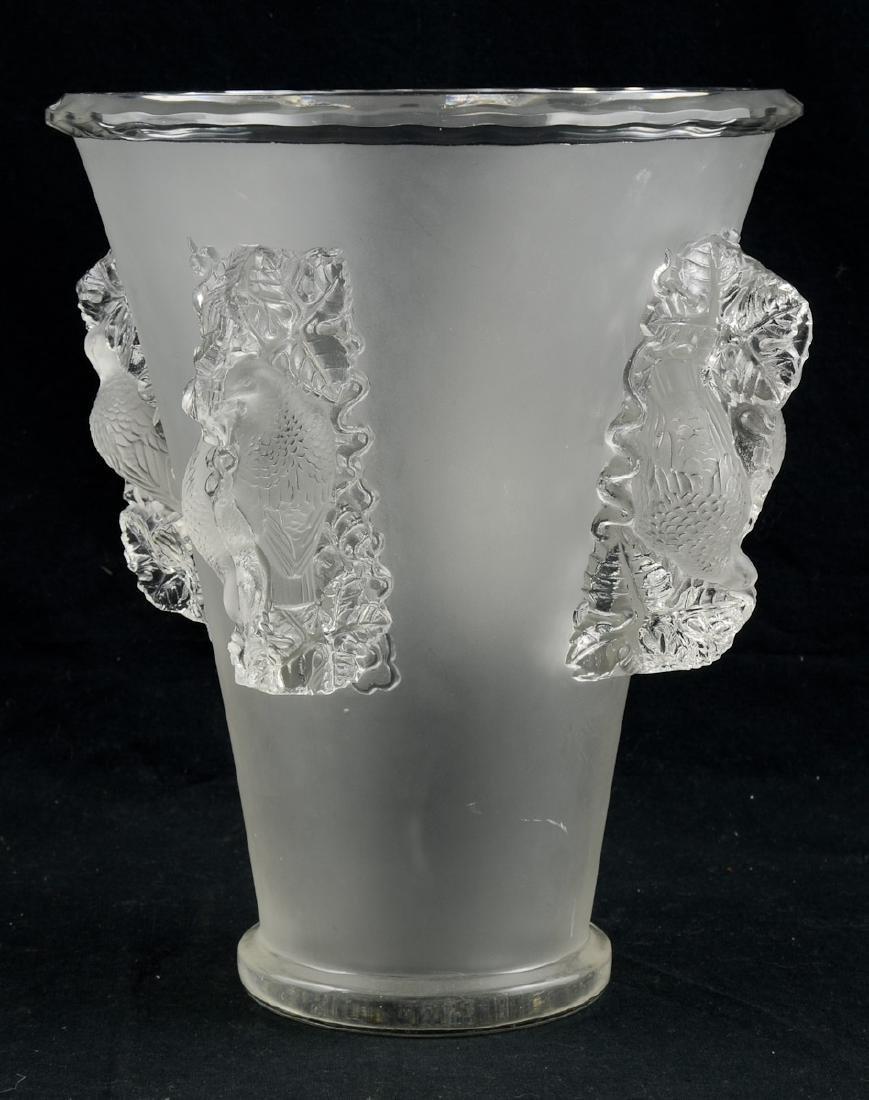 Lalique Saint-Emilion Vase