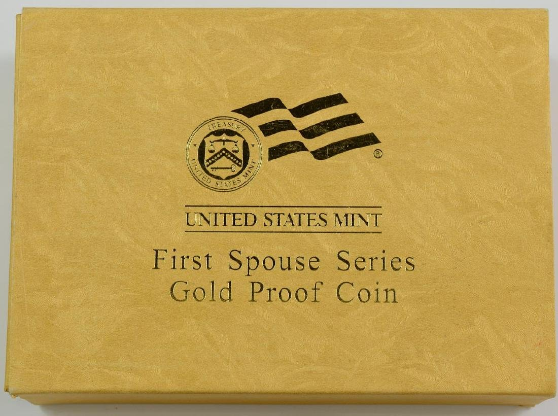 2008W First Spouse $10 Gold Proof