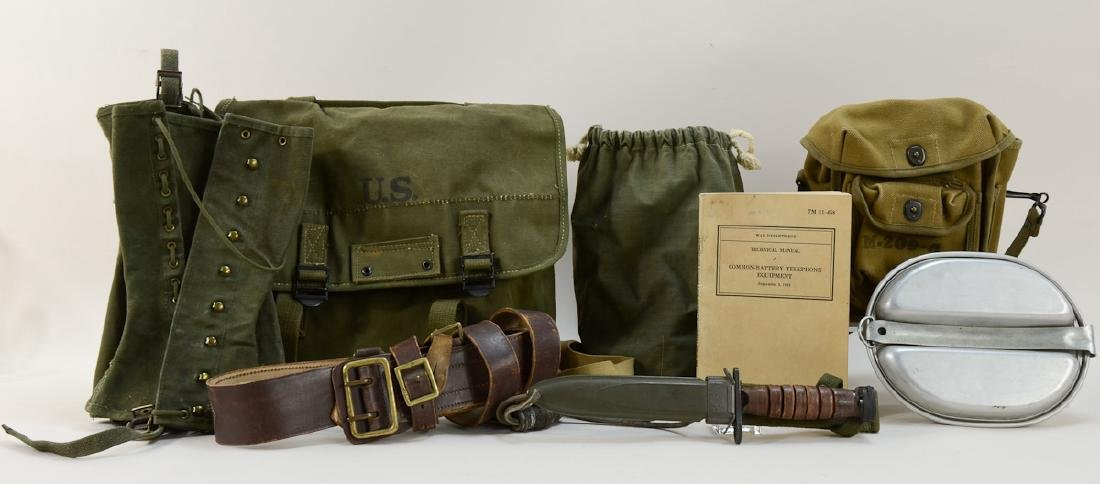 WWII Military lot