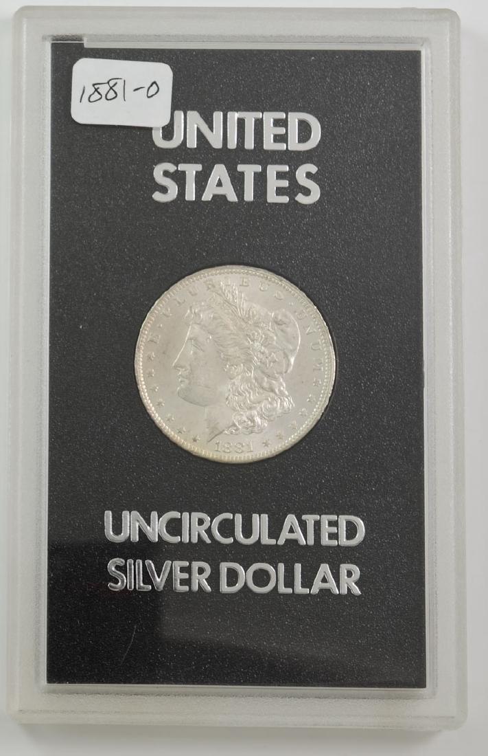 1881-O Morgan Silver Dollar GSA Hoard