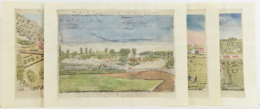 Amos Doolittle Battle Scenes Lexington & Concord