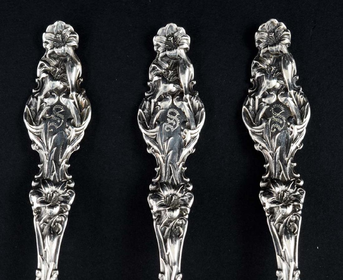 13 Pieces Antique Sterling Flatware - 4