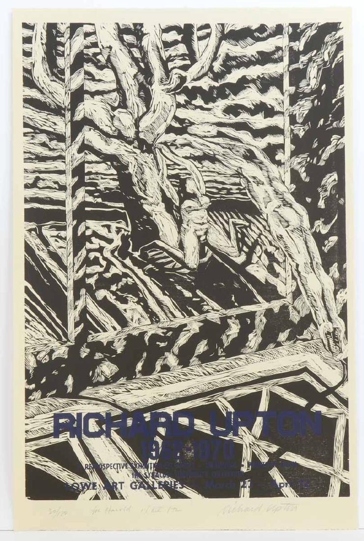 Richard Upton Woodcut