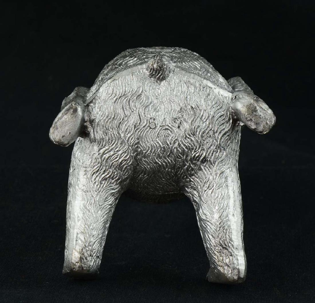 Antique Figural Bear Inkwell - 5