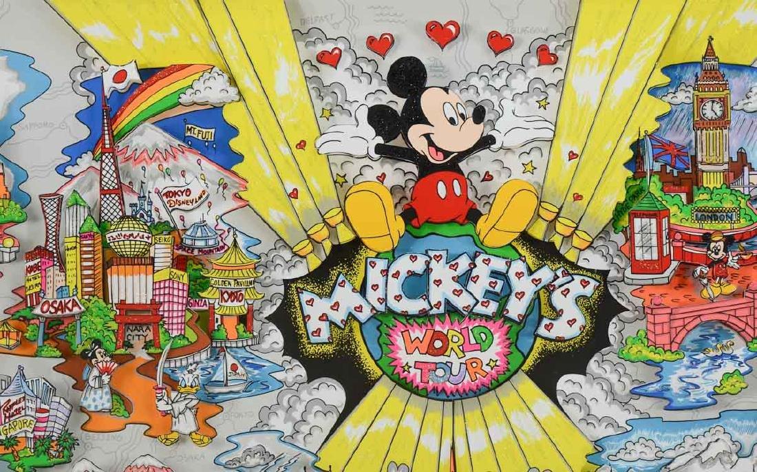 Charles Fazzino: Mickey's World Tour - 2