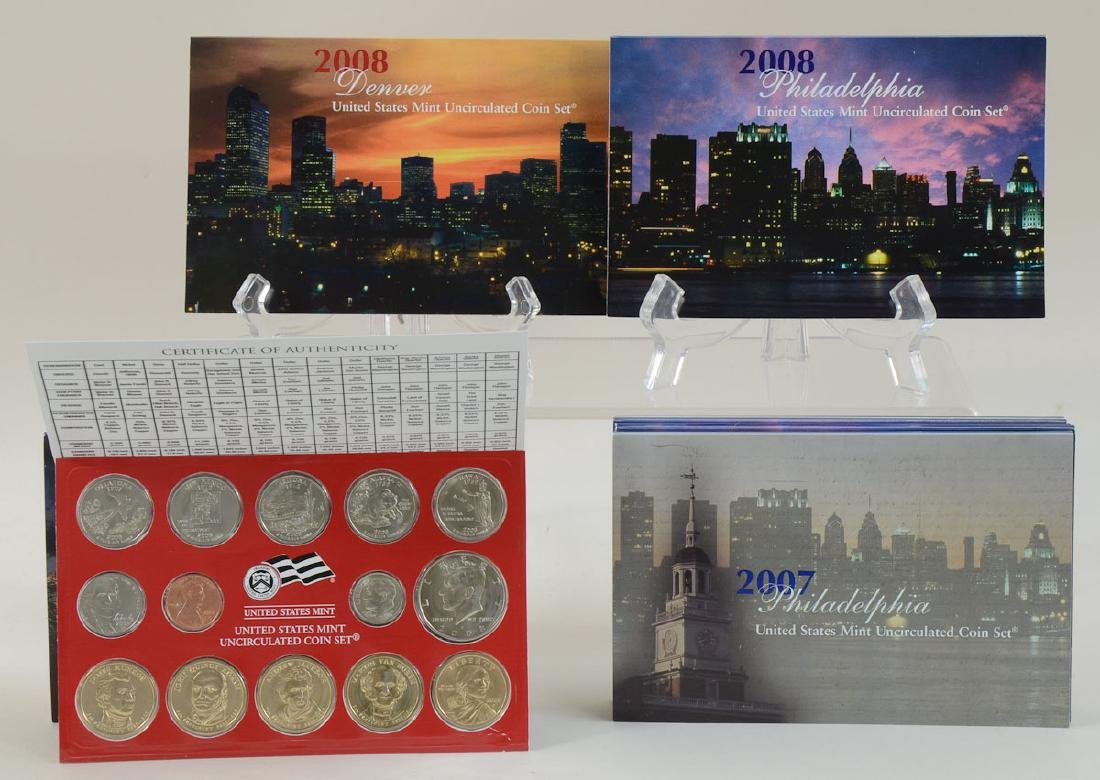 United States Mint Coin Sets - 4