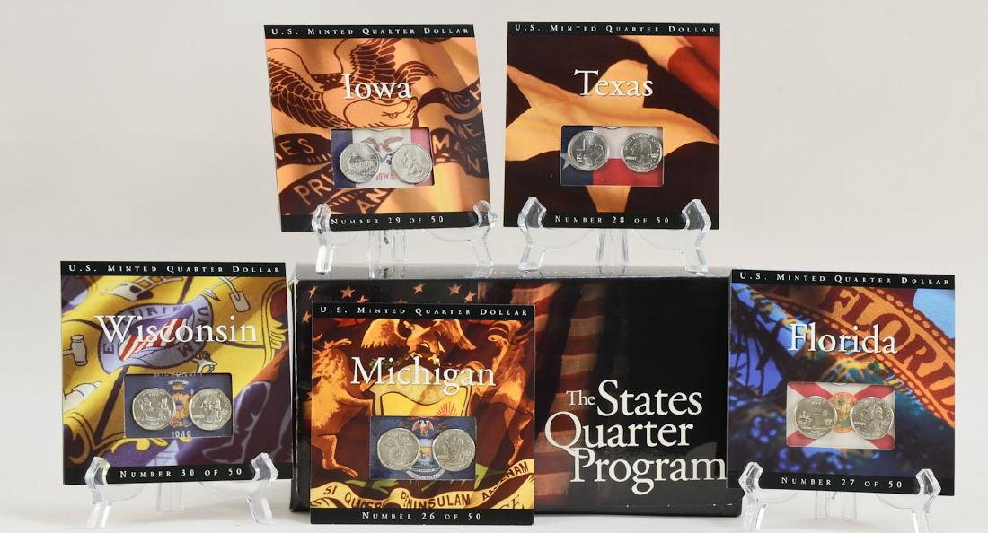 US State Quarters Group - 2