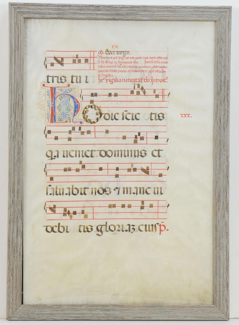 16th Century Illuminated Manuscript