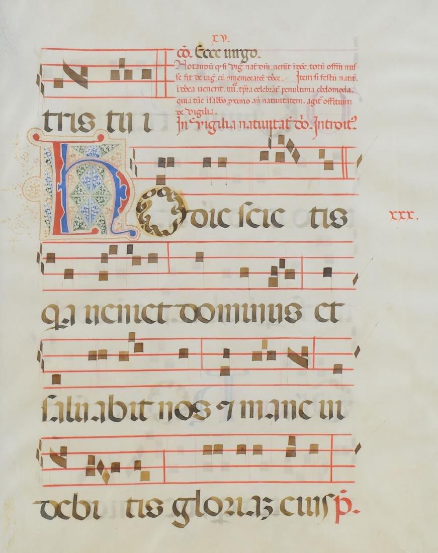 16th Century Illuminated Manuscript - 2