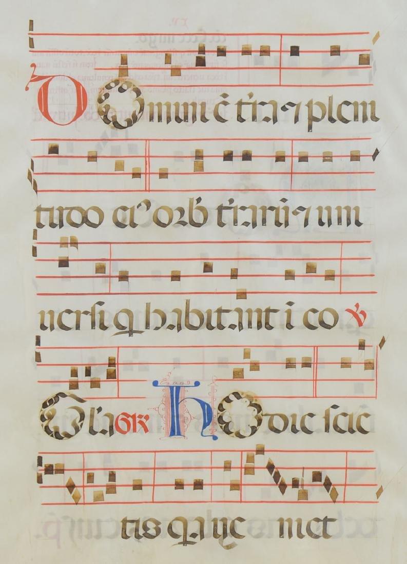 16th Century Illuminated Manuscript - 3